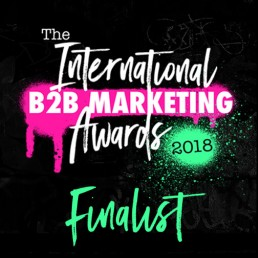 We're Finalists at The International B2B Marketing Awards 2018