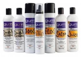 Gum Hair Salon branding