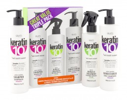 KERATIN 10 branding