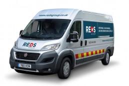 REDS Van front view