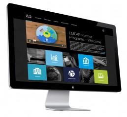 Cisco Incentives webpage design