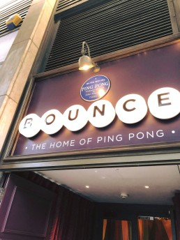 The home of Ping Pong